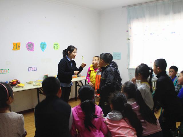 【童心梦想】沙井村流动儿童服务站